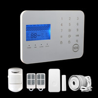 Wholesale New Touch keypad GSM PSTN Alarm System APP Android Operation home securiy alarm system
