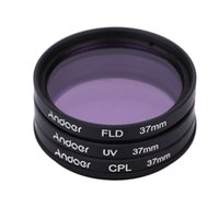 Wholesale Andoer mm UV CPL FLD Filter Kit for Nikon Canon Pentax Sony DSLR Camera Circular Polarizer Filter Fluorescent Filter with Bag order lt no