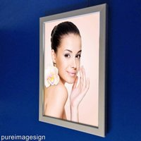Wholesale LED light box panels turn over alumium frames outdoor backlit signs display advertise