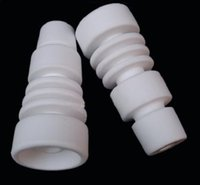 Wholesale Domeless Ceramic Nail Fits to Both mm mm with Male Glass jonit vs GR2 Titanium Nail