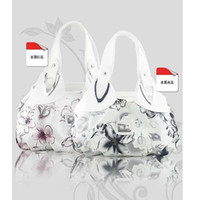 beautiful handbags - Fashion Korean handbag beautiful Women PU leather Bag Tote Bag Printing Handbags six style Satchel drop WHOLESALES SKY32