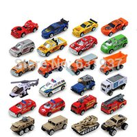 Wholesale Slide Model Alloy Fire Engines Truck Diecasts Toy Vehicles Car Children Educational Toys Simulation Model Gift Boys