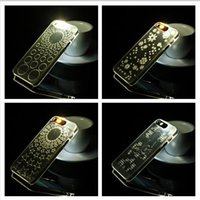 batteries required - 2016 New Light UP Flash Lighting LED Hard Clear Case for iPhone S S for iPhone s s Plus Inch No Battery Required