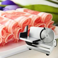 chinese food - Electric Food Slicer Meat Commercial Steel Cheese Cut Restaurant Home quot Blade