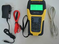 achat en gros de testeur xdsl-ST332B Testeur pour l'affichage à cristaux liquides xDSL / ADSL / DMM / ADSL2 instrument multifonctionnel testeur à main avec petite taille