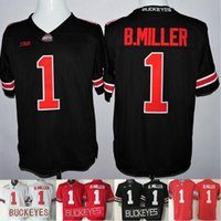 authentic ohio state football jerseys - Factory Outlet Authentic ohio State Buckeyes Playoff Men s Braxton Miller Football Jersey Red White Black sports ncaa College Jerse
