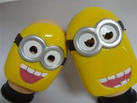 Wholesale Despicable Me Minion Masquerade Halloween Carnival Party Masks Cosplay Mask retail
