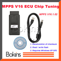 car chip tuning tool - 2015 Best MPPS V16 ECU Chip Tuning Tool For Multi Brand Cars MPPS ECU Programmer Works For EDC15 EDC16 EDC17 Multi Languages