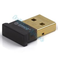 Wholesale Holiday Sale ORICO Original USB Bluetooth Adapter CSR8510 Chip Low Energy USB Adapter SV006901