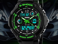 Cheap S SHOCK Luxury Brand SKMEI Men Sport Climbing wristwatch High Quality JAPan Movement Digital Watch Water Resistant watches