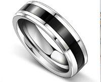 Wholesale Men s titanium steel rings titanium steel quality low price