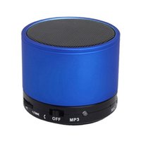 Wholesale Mini Wireless Bluetooth Stereo sport Speaker S10 Aluminium Metal Compact Bluetooth V3 Mini Wireless Portable Speakers for smartphone