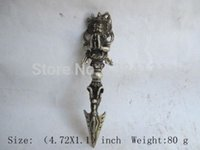 Brass ancient china swords - Old sword weapon Buddhism Taoism China unique copper the ancients multiplier