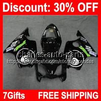 ball compression - 7gifts Ball Black Full Fairing Kit For HONDA CBR600F4i CBR F4i CBR600 F4i F4i Fairings Bodywork Body H