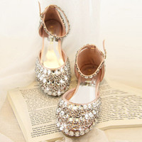 Painting Medium - Hot luxury fashion rhinestone pearl crystal shoes custom size shoes bride wedding party women shoes