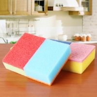Wholesale Clean Sponge Magic Nano Dust remover cleaning Cloth Household Cleaning Kitchen Tools Scouring Pads Wash Bowl pot
