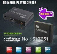 Wholesale MINI HDMI Media Player support USB storage and MMC SD SDHC card AD player MKV amp Blu ray DVD movies full HD p