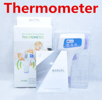 Wholesale Non Contact LCD Digital Infrared IR Laser Thermometer Temperature Laser Gun Point Health Care Thermometers DM300