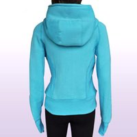 women athletic wear - 2015 New Arrival hoodies Lady Sport Athletic Jacket yoga wear coat Women s sweater popular Multi Color clothing clothes