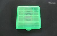 Wholesale AA AAA Battery batteries cases aa aaa Hard Plastic Case Holder Storage Box container