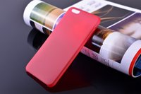 Wholesale 0 mm Ultra Thin Slim Matte Frosted Clear Soft PP Cover Case Skin for iPhone Plus S C Galaxy S6 edge S5 Note