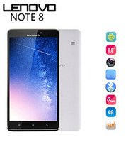 Wholesale Original Lenovo A936 Plus NOTE8 MTK6752 Octa Core Cell Phone G FDD LTE Dual SIM quot HD G RAM GB ROM MP MP Smart Phone