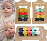 baby with tails - NEW ARRIVAL Mini Felt Hair Bows for Babies inch Felt Bows with Tails bow Barrettes Hairpins baby girl hair accessories