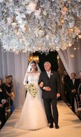 Wholesale The New Wedding Dresses Lace High Necked Long Sleeved Plus Size Bridal Gowns