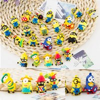 Wholesale Multiple Minions Toys Pendant Key Pendants cm Pvc Material Minion Pendant Toys for Children Minions Toys