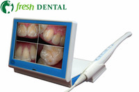 screen wire - Dental Intraoral Cameras Desktop Type With Inch Touch Screen Wired Wireless Tooth Camera Mega Pixes Sony CCD SD Card Memory LED