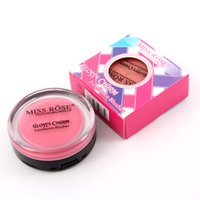 access skin - MISS ROSE Brand Blusher Fast Access to Skin Moisture Non greasy Easy To Apply Lighter Close to Skin Ruddy Blush Cream W