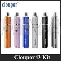 advanced devices - Authentic Cloupor i3 Kit mAh VW Starter Kit W W W Advanced One Device with SSOCC and RBA Coils Atomizer kit