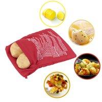 potato express - Potato Corns Bread Microwave Cooker Bag Washable Baked Cooking Roast Potato Express Microwave Potato Cooker Bags