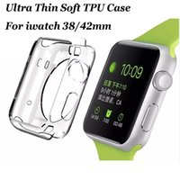 Wholesale Crystal Clear mm Watch Cover TPU Silicone Soft Watch Cover mm mm Watch Cases for iPhone Watch