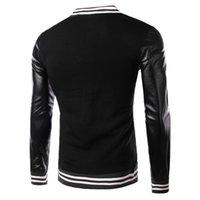 american university baseball - Fall American Style Varsity Baseball Jacket Letterman College University Jacket Coat Outwear Men s Winter Jacket