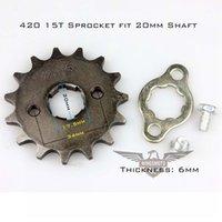 best motorcycle sprockets - 2015 Best Sale Motorcycle ATV Dirtbike Front Sprocket T mm Size Teeth