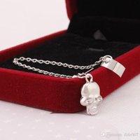 Wholesale Hot Sale New Skeleton Skull Ear Cuff Wrap Cartilage Earrings Clip Men Women Factory price