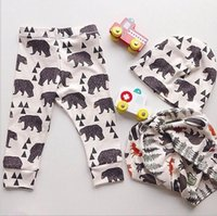 Summer bear tights - 2015 INS Baby Boys Girls White Bear Harem Halen Pants Autumn Softy Causal Trousers Children Clothing Kids g pure cotton thick Winter