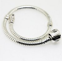 bracelet connectors - 10pcs Silver Bracelet Silver MM Snake Chain Bracelet fits Pandora Bracelets for women