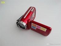 Wholesale 50x Falsh Sale Cheap MP inch Digital Video Camera x Zoom Flash Light DV139 Support Multi language DV