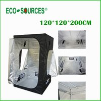 Wholesale New Hydroponics Plants Grow Tent Mini Greenhouse Dark Room Complete Grow Tent System Garden Greenhouse