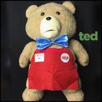 Unisex 3-4 Years Cloth/Rag hot 2015 festival gift baby toys dolls teddy child plush dolls cartoon movie child favorite plush toy christmas gift for children kid