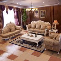 modern sofa leather - 2015 New Arrival Genuine Leather Chesterfield Sofa European Style Modern Set Living Room Sofas Sofa Set Living Room Furniture