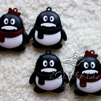 Wholesale Mp3 Player Cute Style Mini Portable Penguin Mp3 Players Colour Cartoon Gift Modeling Creative MP3 Players