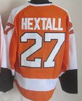 Wholesale 2015 Flyers Ron Hextall Orange Stitched Jersey Ice Hockey Gear Cheap Hockey Jerseys online store