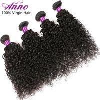 Cheap Malaysian Virgin Hair Best 4 Boundles Kinky Curly Hair