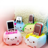baby tofu - Min order is mix order C04 super cute and creative baby tofu mobile phone holder