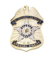 accurate metals - Accurate Repro U S Secret Service Special Agent Metal Badge