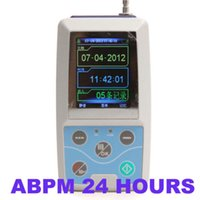 Wholesale US Ship Contec hours Ambulatory Blood Pressure Monitor Holter ABPM2 Cuffs