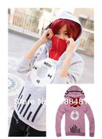 athletics music - Kagerou Project MekakuCity Actors Kido Tsubomi Hoodie Cosplay Unisex Fashon Music coat